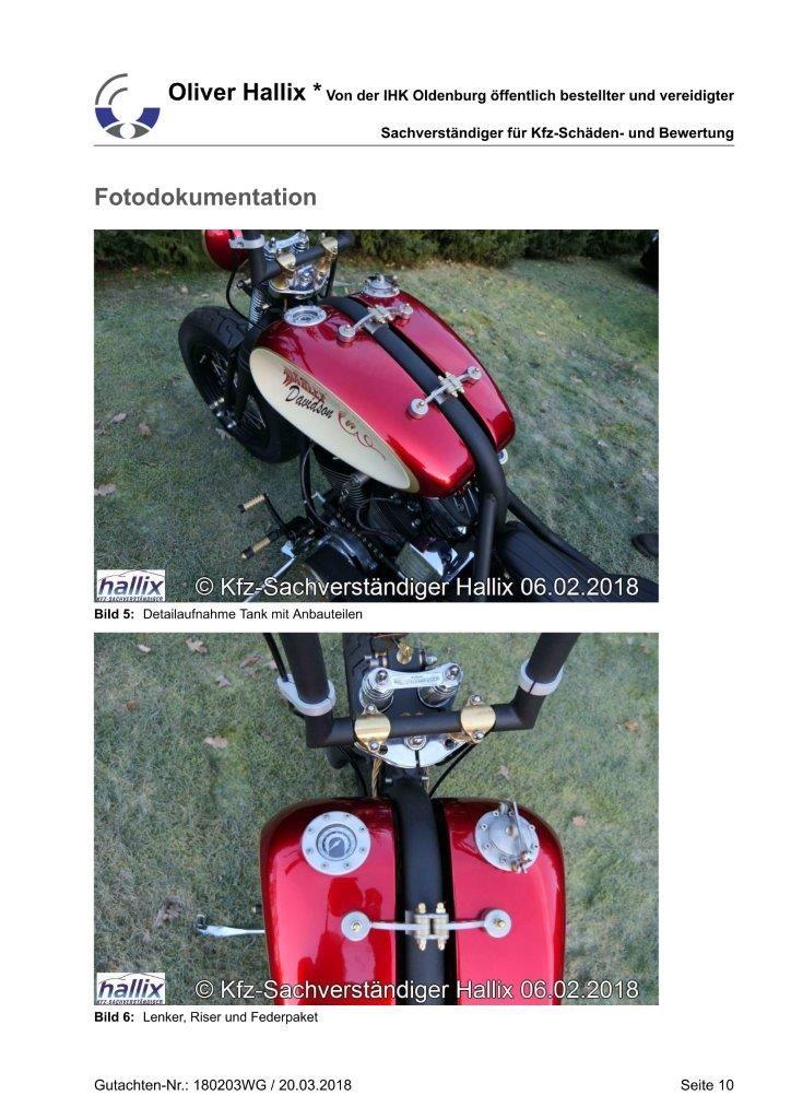 Harley Davidson Wertgutachten Teil 10