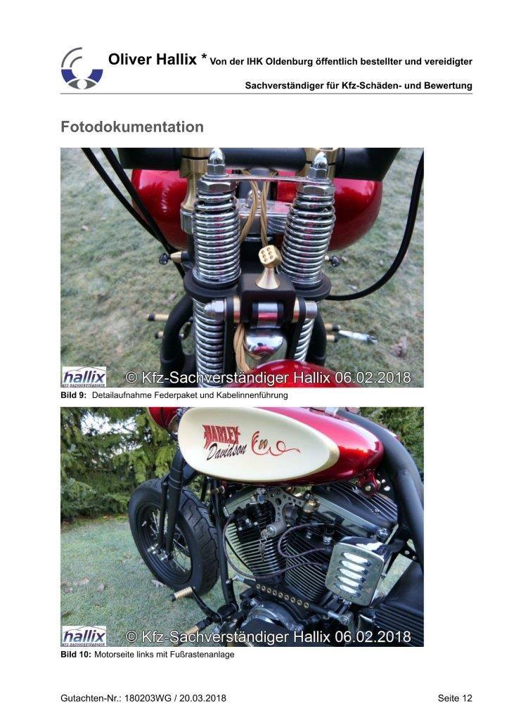 Harley Davidson Wertgutachten Teil 12