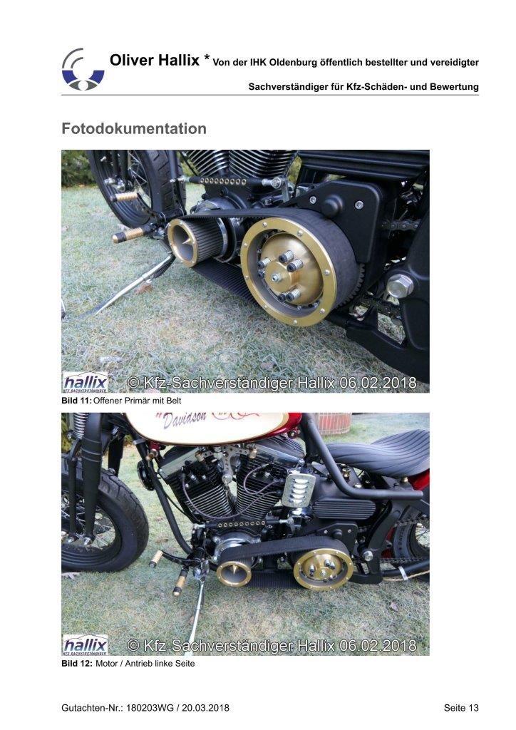 Harley Davidson Wertgutachten Teil 13
