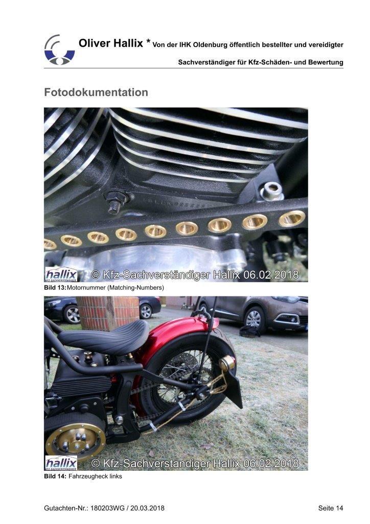 Harley Davidson Wertgutachten Teil 14
