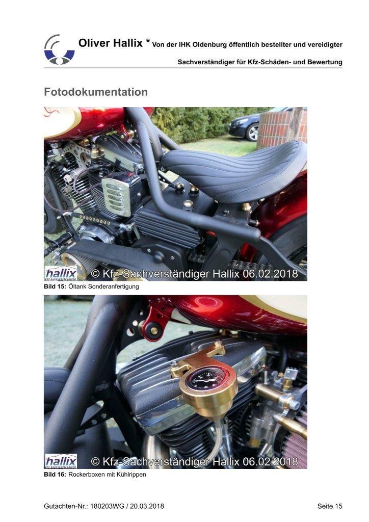 Harley Davidson Wertgutachten Teil 15