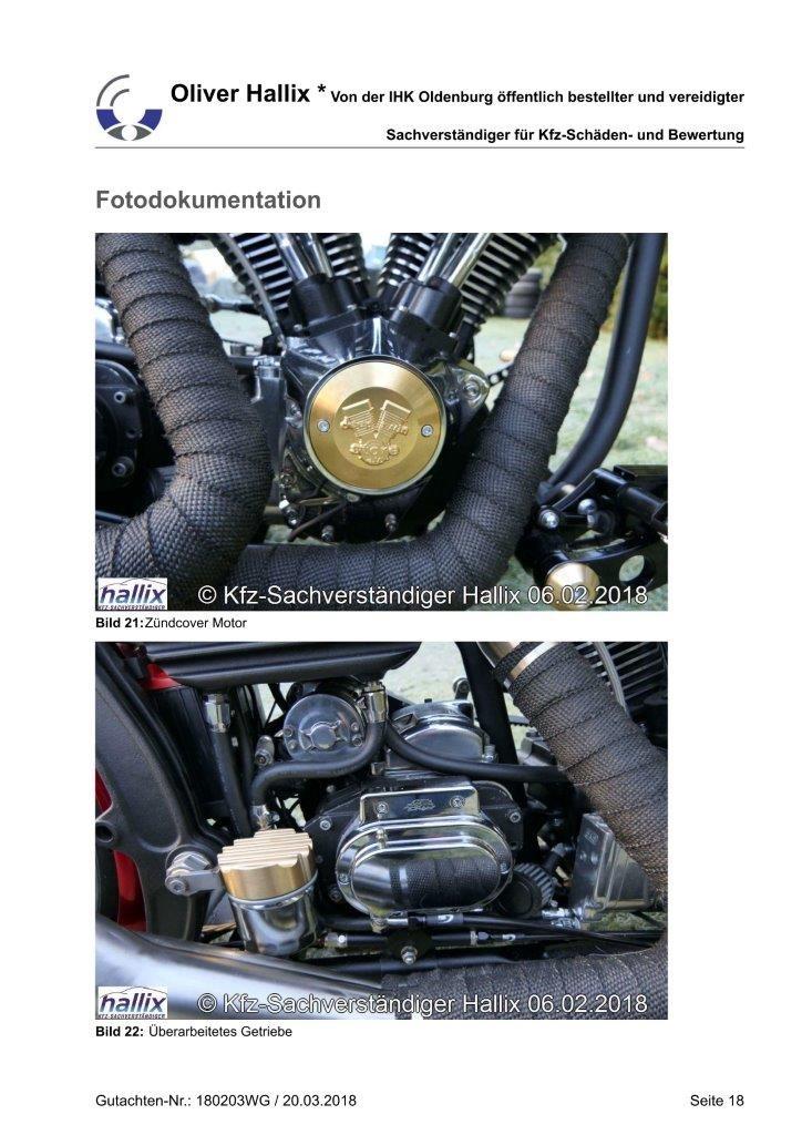 Harley Davidson Wertgutachten Teil 18