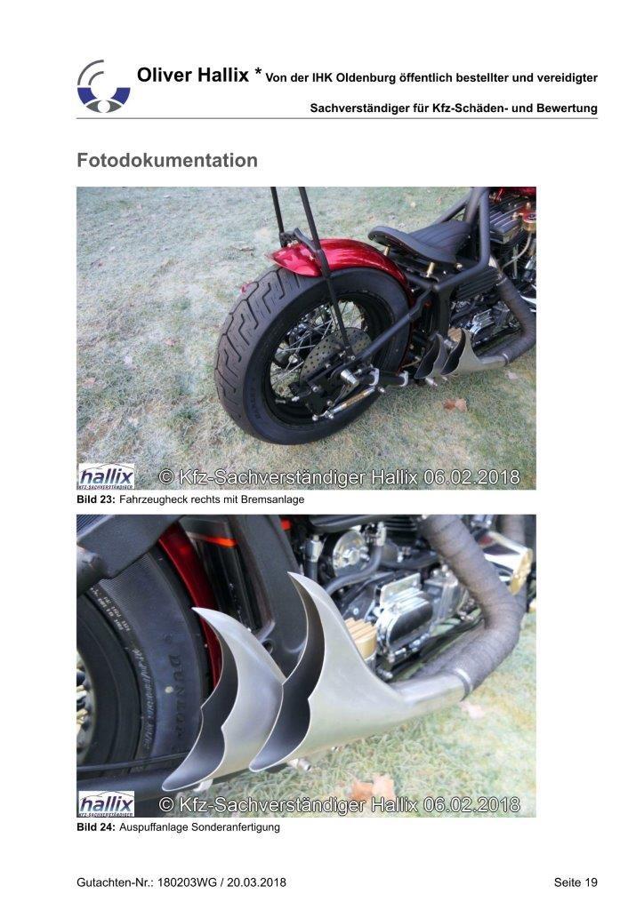 Harley Davidson Wertgutachten Teil 19