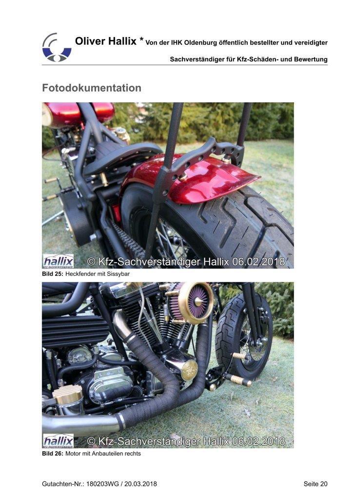 Harley Davidson Wertgutachten Teil 20