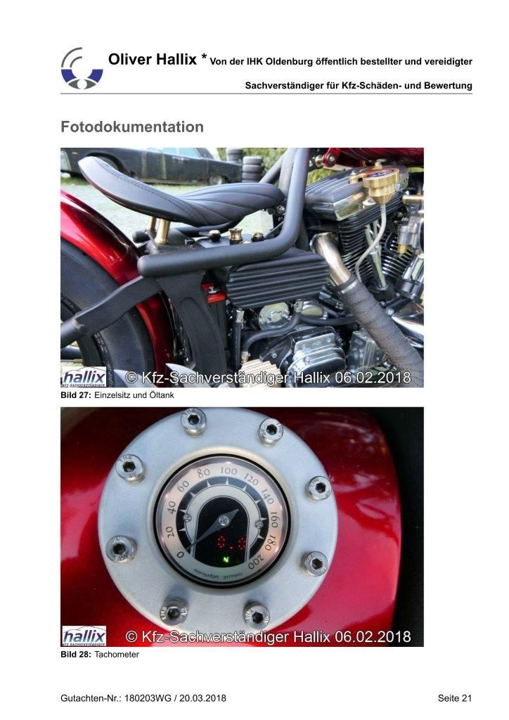 Harley Davidson Wertgutachten Teil 21