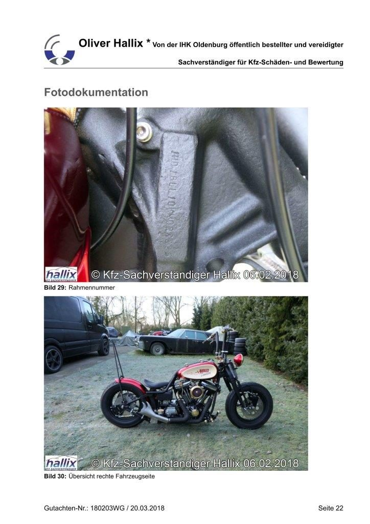 Harley Davidson Wertgutachten Teil 22