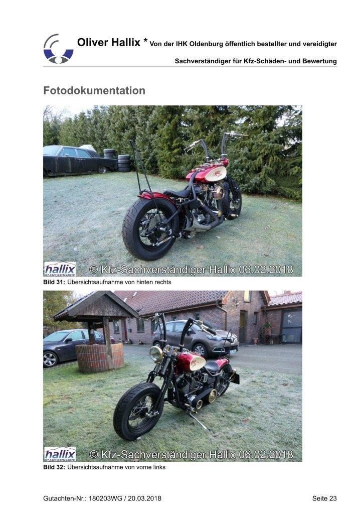 Harley Davidson Wertgutachten Teil 23
