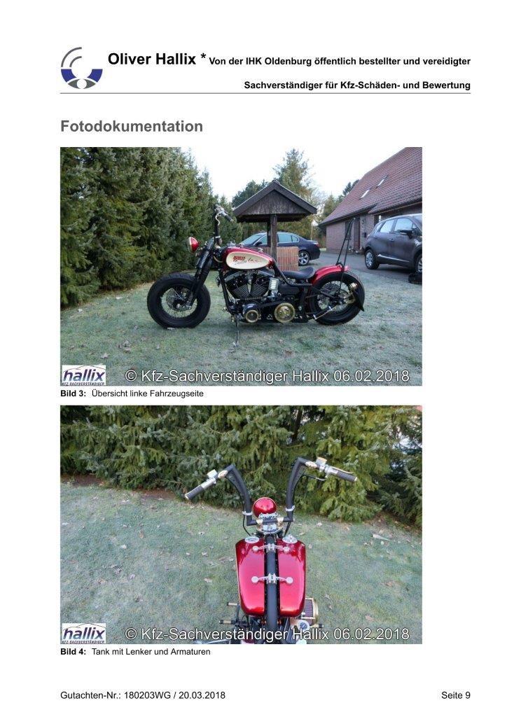 Harley Davidson Wertgutachten Teil 9